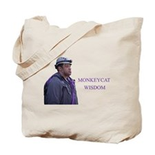 monkeycatWisdom Tote Bag