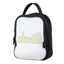 Chicago City Scape Neoprene Lunch Bag