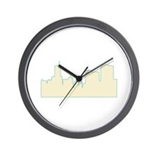 Chicago City Scape Wall Clock
