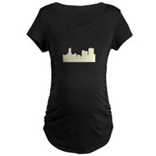Chicago City Scape Maternity T-Shirt