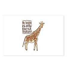 My Height Is My Best Feature Postcards (Package of