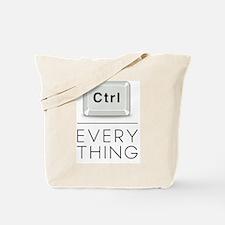 Everything is under Ctrl Tote Bag
