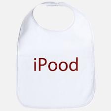Red iPood Humor Bib