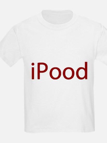 Red iPood Humor T-Shirt