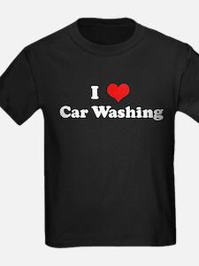 I Love Car Washing T