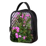 Roses and Trellis Neoprene Lunch Bag