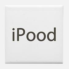 iPood Funny Tile Coaster