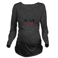My Goal Long Sleeve Maternity T-Shirt