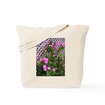Roses and Trellis Tote Bag