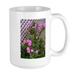 Roses and Trellis Large Mug