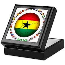 Ghana soccer Keepsake Box