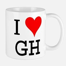 I Love GH Small Small Mug