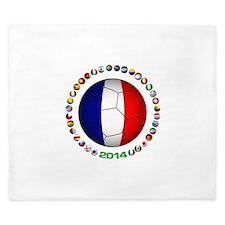 France Football King Duvet