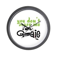 You Dont Scare Me Wall Clock