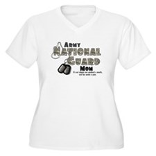 ACU-NationalGuard_mom Plus Size T-Shirt