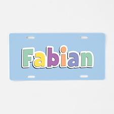 Fabian Spring14 Aluminum License Plate