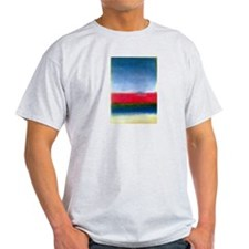 ROTHKO RED WHITE BLUE T-Shirt