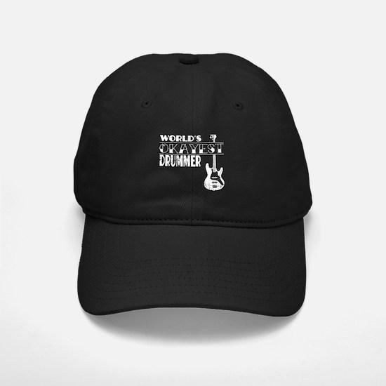 Drummer Gift Worlds Okayest D Baseball Hat