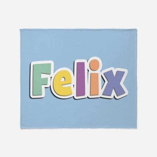 Felix Spring14 Throw Blanket