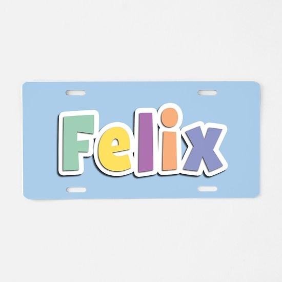Felix Spring14 Aluminum License Plate