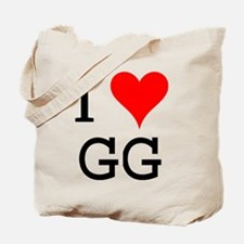 I Love GG Tote Bag
