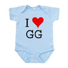 I Love GG Infant Bodysuit