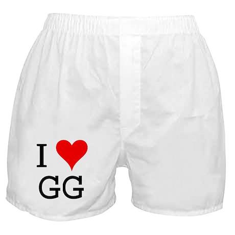 I Love GG Boxer Shorts