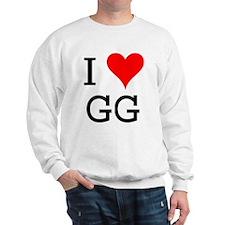 I Love GG Sweatshirt