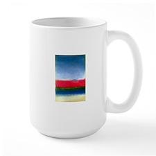 Rothko_red_white_blue Mugs