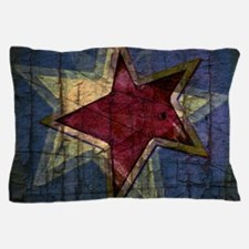 grunge star Pillow Case