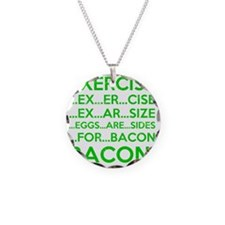 Exercise Eggs Are Sides Baco Necklace
