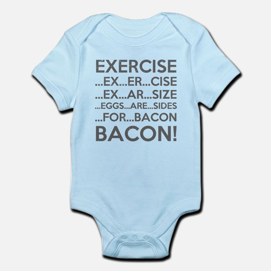 Exercise Eggs Are Sides Bacon Body Suit