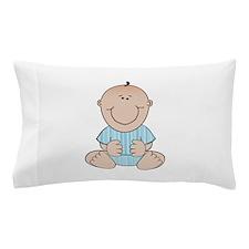 Baby Boy Sitting Pillow Case