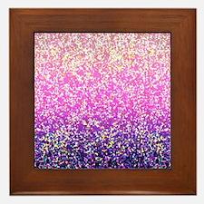 Glitter 6 Framed Tile