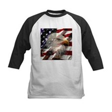 American Eagle Flag Baseball Jersey