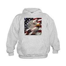 American Eagle Flag Hoodie