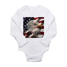 American Eagle Flag Body Suit