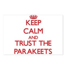 Keep calm and Trust the Parakeets Postcards (Packa