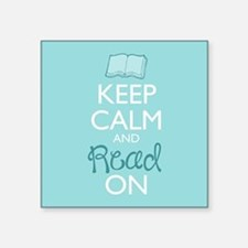 Keep Calm and Read On Sticker