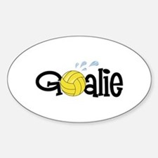Water Polo Goalie Decal
