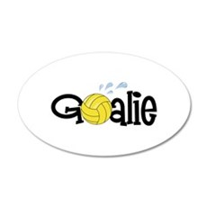 Water Polo Goalie Wall Decal