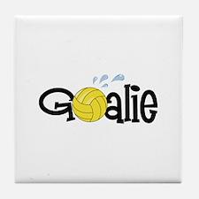 Water Polo Goalie Tile Coaster