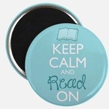 Keep Calm And Read On Magnets
