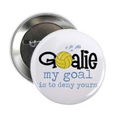 "My Goal Is To Deny Yours 2.25"" Button (10 pack)"
