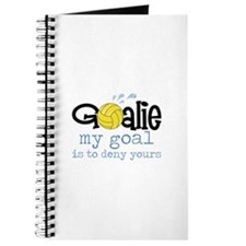 My Goal Is To Deny Yours Journal