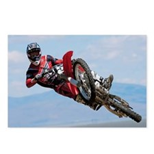 Motocross Stunt Postcards (Package of 8)