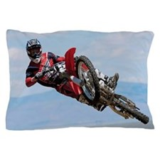 Motocross Stunt Pillow Case