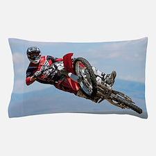 Motocross Stunt Pillow Case
