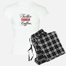 No Talkie Before Coffee Pajamas