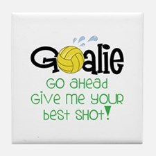 Go Ahead Tile Coaster